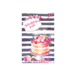 Greeting card Bloom cake