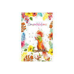 Greeting card  Tequila Sunrise...