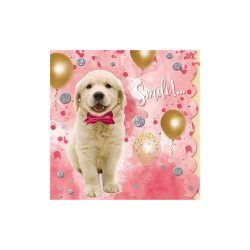 Greeting card Cuddles goldi