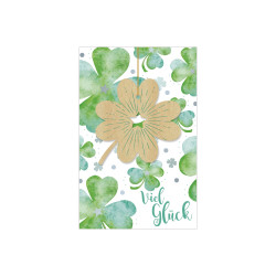 Greeting card Woodstock clover