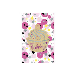Greeting card Woodstock muffin