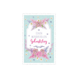 Greeting card High tea sign