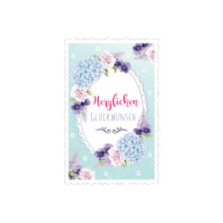 Greeting card High tea frame