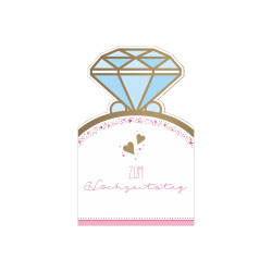 Greeting card money gift weddi...