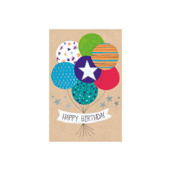 Greeting card Butterscotch bal...