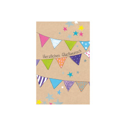 Greeting card Butterscotch pen...