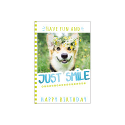 Greeting card just smile