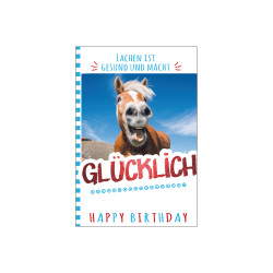 Greeting card happy