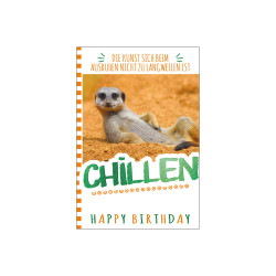 Greeting card chillen