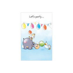 Greeting card Dylan party