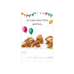 Greeting card Twinny tug of wa...