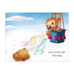 Greeting card Funny Animals Tw...