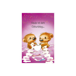 Greeting card Funny Twinny to...
