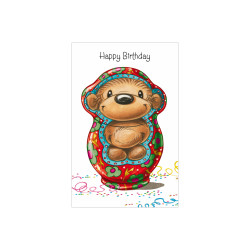 Greeting card Twinny Matryoshk...