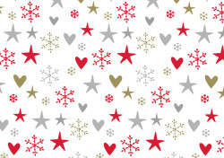 Gift wrap 2m Xmas Lovely Xmas